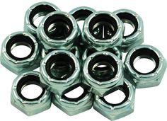 Roller Skate Wheel Axle Lock Nuts  A Set Of  8