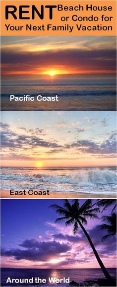 Rent a Beach House or Condo for Your Next Family Vacation  Check out these  resourcesFamily Vacation  Panning for Gold   What a  cool  vacation  . Family Vacation Beach East Coast. Home Design Ideas