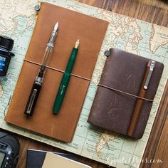 Travel allows for long periods of reflection while on the move. Click the link in our profile to find the Traveler's Notebook in Camel, shown here in Regular size. You'll love looking back through treasured travel memories in this perfectly portable journal!