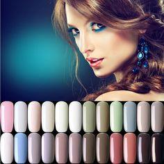 Lámpara de Uñas de Gel Profesional Uv Gel Esmalte de Uñas de Manicura Empapa del LED Esmalte de Uñas de Color Rojo Gris Top Base Coat Nail Gel