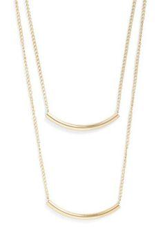 Quite a Swing Set Necklace, #ModCloth, $13.99