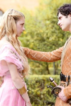 Game of Thrones: Myrcella Baratheon and Trystane Martell