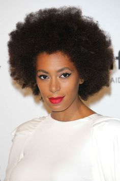 The beautiful fashionable Solange Knowles.