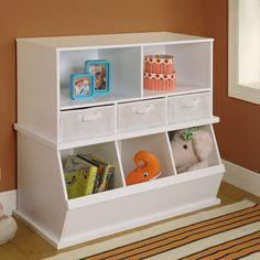 Badger Basket Shelf Storage Cubby with 3 Baskets & Reviews | Wayfair