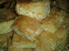 Gibanica Recipe, Bread Recipes, Cooking Recipes, Bosnian Recipes, Spanakopita, Dessert Recipes, Desserts, Baked Goods, Food And Drink
