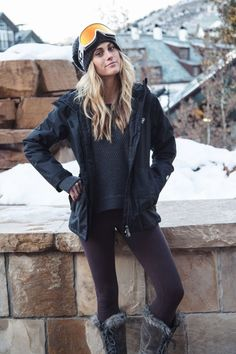lululemon in Beaver Creek! Best skiing base layers ;) Follow for follow, pin for pin!