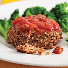 Mini-pains de viande à la salsa Mini Pains, Meatloaf Recipes, Beets, Main Dishes, Easy Meals, Cooking Recipes, Favorite Recipes, Health, Magazines