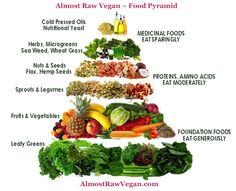 """So what is an """"Almost Raw"""" Vegan?  An 'Almost Raw' Vegan (ARV) diet follows the same principles as a raw vegan approach to eating, the only difference is an Almost Raw Vegan will also enjoy some cooked foods!  In come ARV Food Pyramid  Check out the details in this article/post!"""