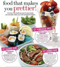 Foods that make you prettier!