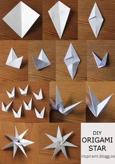 Inspirami - List of the most creative DIY and Crafts Origami Cat, Paper Crafts Origami, Paper Crafting, Christmas Origami, Christmas Crafts, Christmas Snacks, Christmas Holidays, Ideas Decoracion Navidad, Star Wars Origami