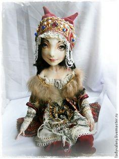 Коллекционные куклы ручной работы: Дарина. Handmade.
