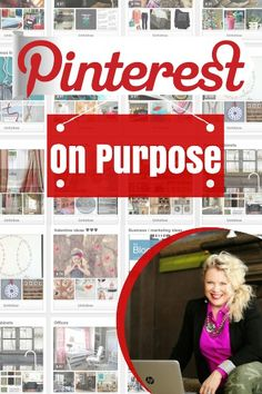 Do you need help figuring out how to use Pinterest as a tool to grow your business and make your company money? There is a way to use Pinterest on purpose! Training details at www.themagicbrushinc.com/pinterest-on-purpose-webinar