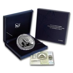 2016 China 150g Silver Chinese Panda Proof Coin with COA & Case