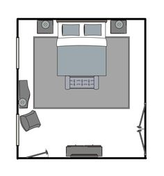 Area Rug Size Guide For Bedrooms With King Beds Decorating Pinterest Rug Size Guide Area