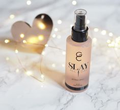 My @gerardcosmetics SLAY ALL DAY setting spray is a game changer  it really does what it says & sets your make up allllll day. It smells pretty yummy to  #makeup #makeupaddict #makeupaddicts #mua #motd #makeupoftheday #makeupbyme #makeupartist #makeupbrushes #rosegold #copper #marble #beautyblogger #bblogger #bbloggers #beautybloggers #fbloggers #fashionbloggers #lifestyle #lifestyleblog #flatlay #fblogger #makeupaddiction #ootd #potd #healthy #fitness #fwis #makeuplover