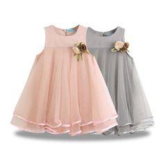 Sheer Flow Party Dress Little Girl Dresses Dress Flow Party Sheer Baby Dress Design, Frock Design, Little Girl Dresses, Girls Dresses, Flower Girl Dresses, Baby Dresses, Flower Girls, Dresses For Kids, Dresses Dresses