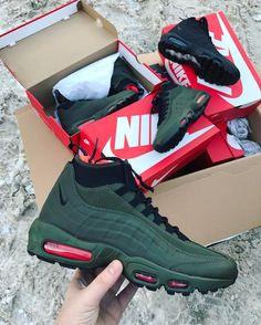 "43 Likes, 2 Comments - Луцьк online Shop (@a.sh_company) on Instagram: ""Виконані замовлення  #nike #air #airmax #sneakerboot #olive #black  #kickstagram #sneakers…"""