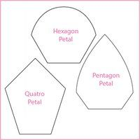 free english paper piecing hexagon templates - 1000 images about quilt english paper piecing on