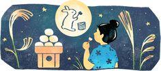 2020-10-01 中秋の名月 2020 Nara Period, Heian Period, Era Edo, Festival Download, Buddha, Happy Mid Autumn Festival, Autumnal Equinox, Google Doodles, Cool Pins