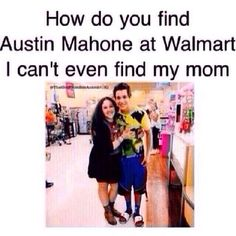 i would not probably because he would not even go to the same walmart than me