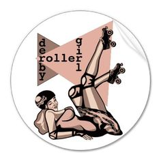 Shop roller derby girl pin up classic round sticker created by syancey. Roller Derby Girls, Roller Skating, Washing Clothes, Pin Up Girls, Make Me Smile, My Style, Skates, Pinup, Rockabilly