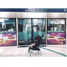 Siguiente parada, Dubai. Con el metro más moderno del mundo #mydubai  #dubai #metrodubai  #travel  #instatravel  #viajar #viajarconniños  #viajatuadubai #babyzenyoyo #mytravelgram