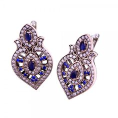 Sapphire Silver Earrings www.hanedansilver.com #Roxelana #East #Market #Hurrem #Jewellers #Silver #Earring #Jewelers #Ottoman #GrandBazaar #Earring #Silver #Pendant #Silver #Bracelet #Anadolu #Schmuck #Silver #Bead #Bracelet #East #Authentic #Jewelry #Necklace #Jewellery #Silver #Ring #Silver #Necklace #Pendant #Antique #istanbul #Turkiye #Reliable #Outlet #Wholesale #Jewelry #Factory #Manufacturer # Ring #Trade #Gift #Gold #Free