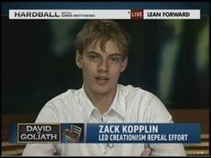 How 19-year-old activist Zack Kopplin is making life hell for Louisiana's creationists. May he inspire more of his generation to fight for what's right and for the integrity of science education!