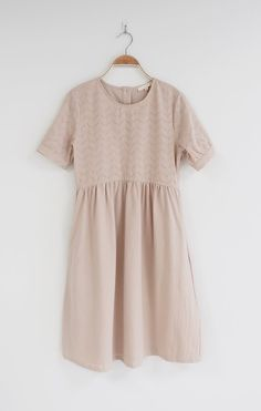 Blush Linen Dress | ROOLEE