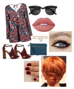""""""""""" by pren-ses ❤ liked on Polyvore featuring Catbird, New Look and Lime Crime"""