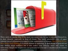 #EDDM (Every Door Direct Mail) Printing. http://black-pine-printing.blogspot.com/2015/08/eddm-every-door-direct-mail-printing.html