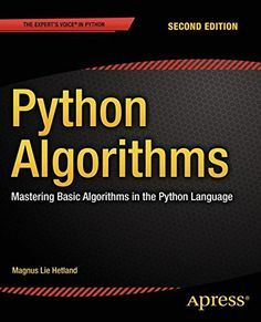 A great list of Python eBook resource