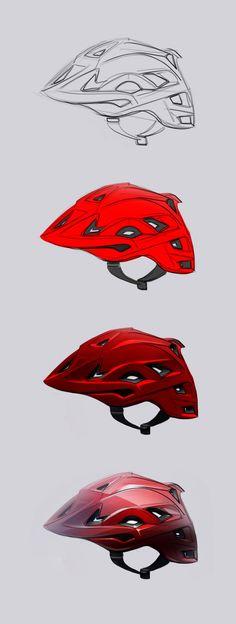 helmet render. Great lights and Darks