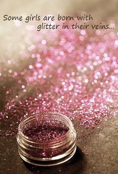 Of course You Must Have Pink Glitter on Your Big 40!!!
