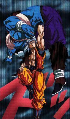 Goku vs Moro by Sarria_Art