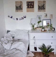 green, bed, plants, inspiration, plant, room inspiration, bedroom, white, room