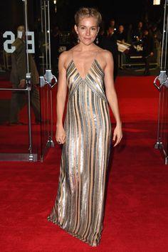 Sienna Miller Photos: 'Foxcatcher' Premieres in London