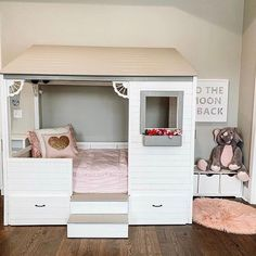 How cute is this bed? 😍 Beddy's is the ONLY way to go for bedding when it comes to this adorable house bed. They go on just like a fitted sheet and has a zipper on each side. All you have to do is unzip to sleep, and zip it up to make in the morning. It's not only EASY, but FUN too. Your kids will now love making their bed! 📷: @our_home_at_fountains #beddys #zipperbedding #zipyourbed #girlbedding #girlbed #beddysbeds #girlyroom #girlsroomdecor #girlsroom Interior Design Colleges, Best Interior Design, Home Interior, Kids Bedroom Furniture, Home Decor Furniture, Furniture Decor, Furniture Cleaner, Furniture Stores, Kuala Lumpur