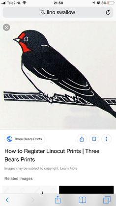 Bear Print, Linocut Prints, Om, Anna, Animals, Image, Animales, Animaux, Animal