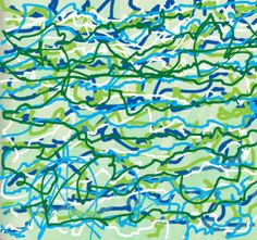 Josephine G.'s traffic pattern,5 feb 2013:   I tried out my first traffic patterns drawing, I hope to try more tomorrow and the next day and see what comes out of it.