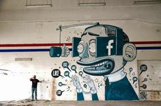 Mural by Mr. Thoms