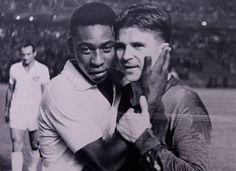 """Pelé: """"If he lives today, in the television and internet's age, Puskás would be the biggest footballer, not just on the Earth, but on the Moon too. Football Awards, Football Icon, Football Stadiums, God Of Football, School Football, Budapest, Retro, Football Mexicano, Association Football"""