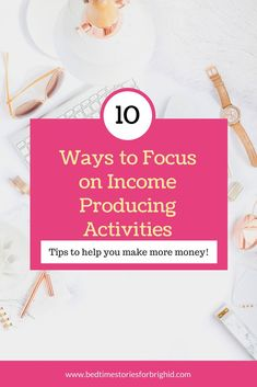 Learn How to Stay Focused and Make More Money! These tips will help you have more success in your life and business #personalfinance #blogging #business
