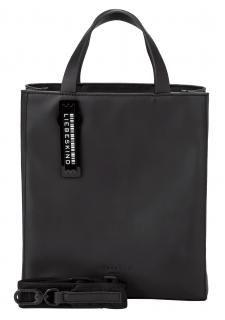 Liebeskind Handtasche Paper Bag Tote S schwarz - Bags & more