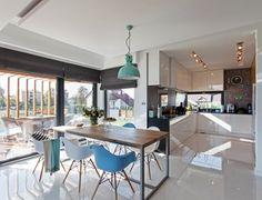 Jadalnia styl Skandynawski - zdjęcie od DOMY Z WIZJĄ - nowoczesne projekty domów
