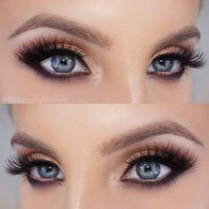 Eye colors play a major role in picking the right eye makeup for you. Having no idea what eyeshadow colors you should try? Then we can help you with some suggestions that will make your eyes even more beautiful. These eyeshadow colors will help you define them and amaze everyone. #makeup #eyescolor #blueeyes #greeneyes #hazeleyes #browneyes