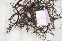 Lloñe, una tipografía estampada by Julia Dín. Foto: Baco Cid