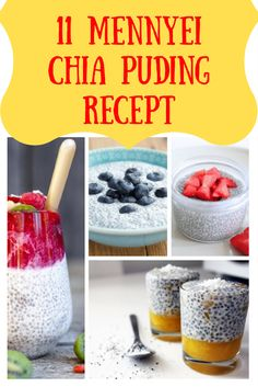 A 11 mennyei chia puding receptért, kattints a képre. Chia Puding, Food To Make, Smoothies, Healthy Lifestyle, Diy And Crafts, Paleo, Food And Drink, Low Carb, Cooking