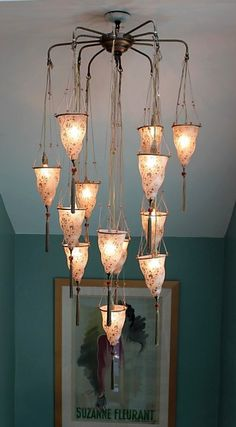 We Have The Sconces In Our Front Room And Chandelier Dining Fortuny