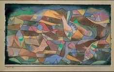 Paul Klee 'Playing Fish'  1917